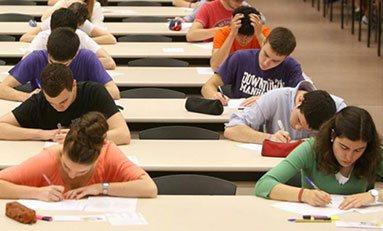 Pruebas de acceso a la Universidad (PAU)
